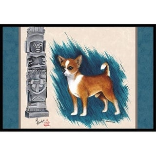Carolines Treasures MH1011JMAT Chihuahua Totem Indoor & Outdoor Mat 24 x 36 in.