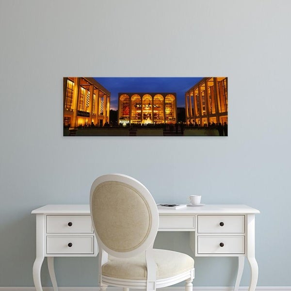 Easy Art Prints Panoramic Image 'Entertainment building, Lincoln Center, Manhattan, New York City, New York' Canvas Art