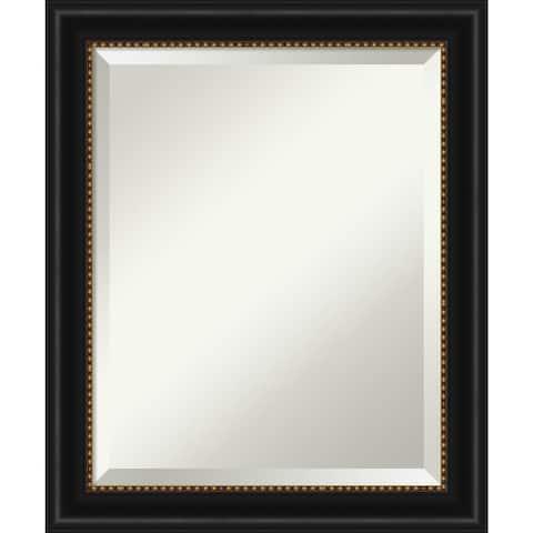Manhattan Black Bathroom Vanity Wall Mirror