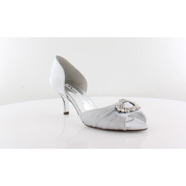 Nina Crystah Women's Heels Silver