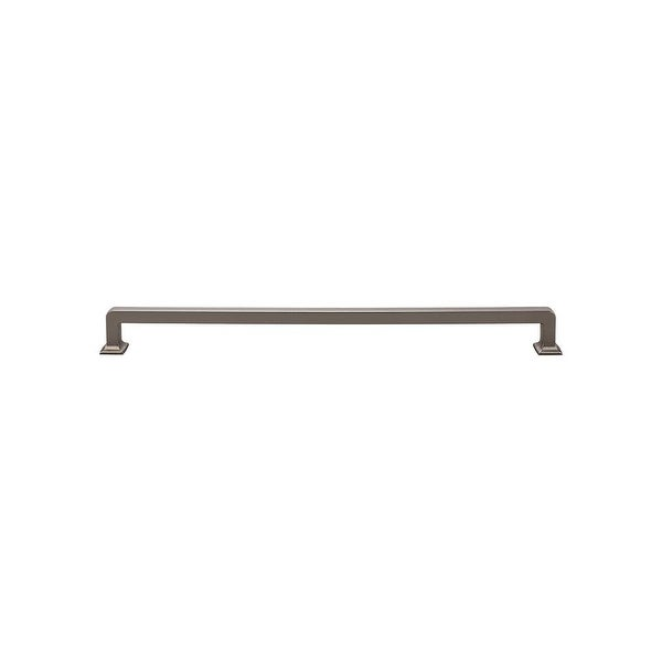"Top Knobs TK708 Ascendra 12"" Center to Center Handle Cabinet Pull from the Transcend Series"
