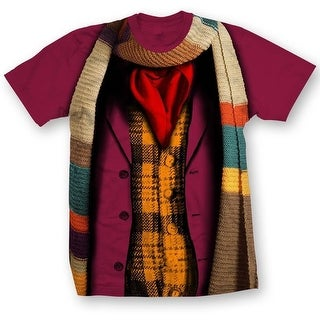 Doctor Who Classic Mens T-Shirt 4Th Doctor Costume