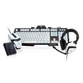 IOGEAR Keyboard + Mice GE1337PKITX KeyMander Imperial GE1337P with Keyboard/MOUSE/HEADSET Retail