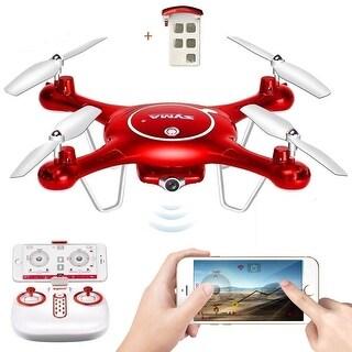 Costway Syma X5UW 2.4G 4CH Wifi FPV RC Quadcopter Remote Control 720P HD Camera