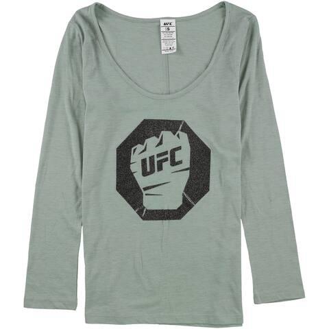 Ufc Womens Glitter Logo Graphic T-Shirt