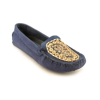 J. Renee Trulyn Round Toe Suede Loafer
