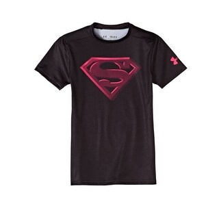 Boys Under Armour 1244392 Alter Ego Superman Graphic T-Shirt Youth Large
