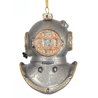 Deep Sea Diver Helmet Christmas Holiday Ornament