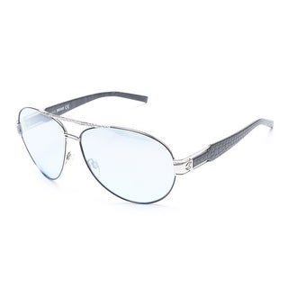 Just Cavalli Women's Silver Aviator Sunglasses Silver - Small