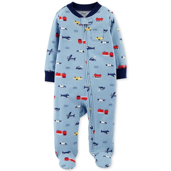 d8682462d891 Shop Carters Boys 0-9 Months Rescue Sleep and Play - Blue - Free ...