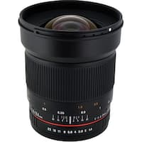 Rokinon 24mm f/1.4 ED AS UMC Wide-Angle Lens for Nikon - Black