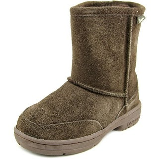 Bearpaw Meadow Toddler Round Toe Suede Snow Boot