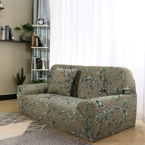Shop 1 2 3 4 Seater Chair Loveseat Sofa Cover Slipcover Sofa ...