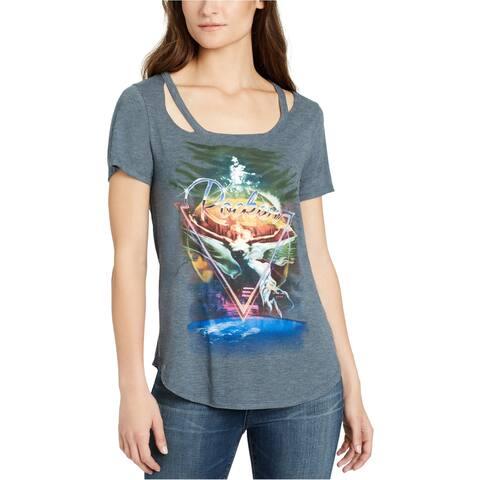 William Rast Womens Rocker Graphic T-Shirt