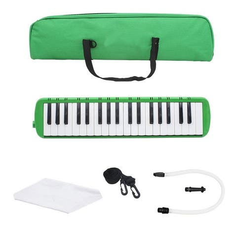 Glarry 37 Key Melodica With Mouthpiece Hose Bag