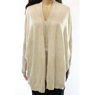 Bobeau NEW Beige Black Women's Small S Colorblock Cardigan Sweater