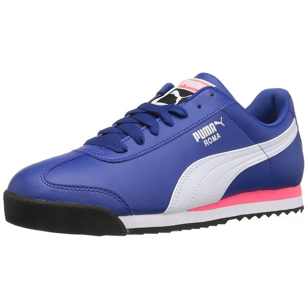 PUMA Mens Roma Basic Low Top Lace Up Fashion Sneakers