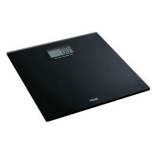 American Weigh Scales Talking Bathroom Scale, Black