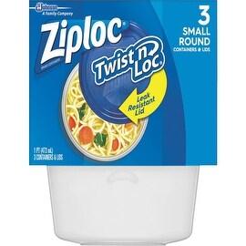 Ziploc Sm Ziploc Disp Container