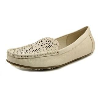 Isaac Mizrahi Arbor Moc Toe Leather Loafer