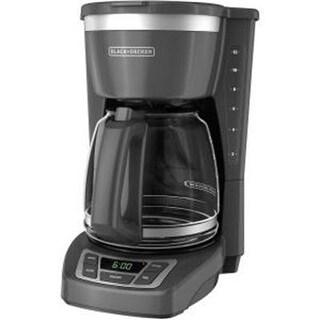 Black & Decker CM1160G Black Decker Drip Coffeemaker, Gray - Stainless Steel