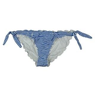 Polo Ralph Lauren Womens Striped Side Tie Swim Bottom Separates