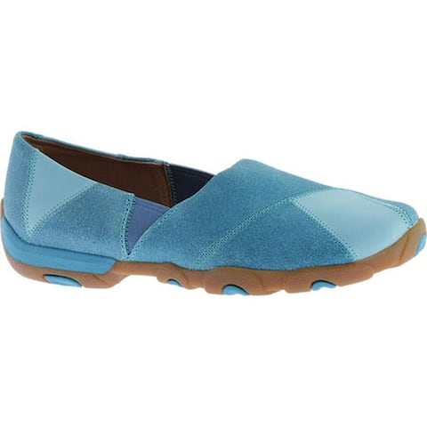 Twisted X Boots Women's WDM0055 Slip On Ocean Blue Leather