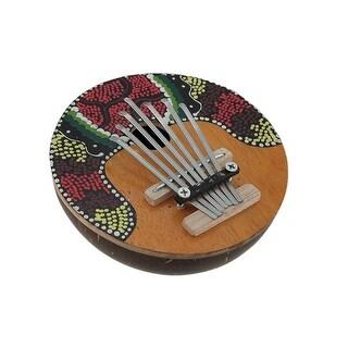 Hand Crafted Coconut and Wood Kalimba Mbira Thumb Piano