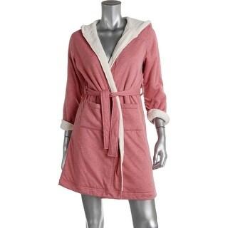 Tucker + Tate Girls Fleece Lined Short Robe - M