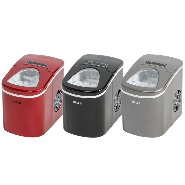 Shop Della Portable Ice Maker Produces Up To 26 Lbs Of