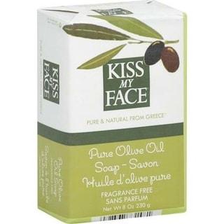 Kiss My Face - Fragrance Free Pure Olive Oil  Bar Oap ( 6 - 8 OZ)