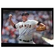 Signed Cain Matt San Francisco Giants 12x18 Photo autographed