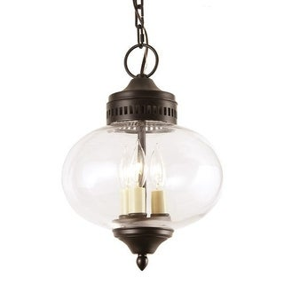 JVI Designs 1175 3 light Foyer Ceiling Fixture from the Classic Onions collection