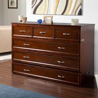 Link to Deerfield Murphy Queen Bed Chest with charging station Similar Items in Bedroom Furniture