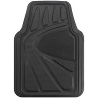 Auto Expressions R5704A-BLACK Car Floormat, 4-Piece