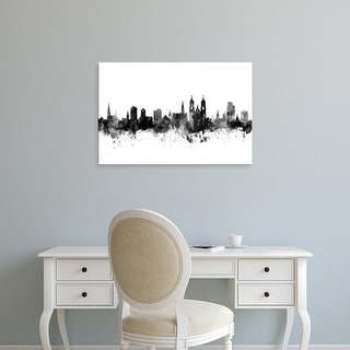 Easy Art Prints Michael Tompsett's 'St Gallen Switzerland Skyline' Premium Canvas Art