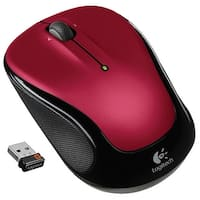 Logitech 910-002651 Wireless Mouse M325 With Designed-For-Web Scrolling - Red