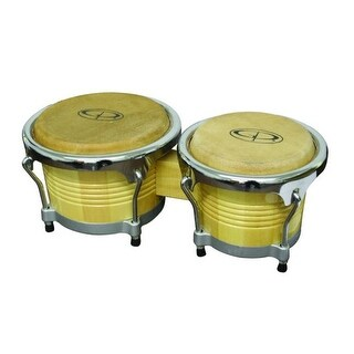 "GP Percussion ""Pro Series"" Tunable Birch Bongos"