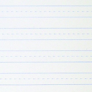 School Smart Skip-A-Line Ruled Writing Paper, 3/8 Inch Ruled Short Way, 8 x 10-1/2 Inches, Pack of 500