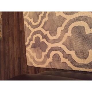 Safavieh Handmade Dip Dye Alana Watercolor Vintage Boho Wool Rug