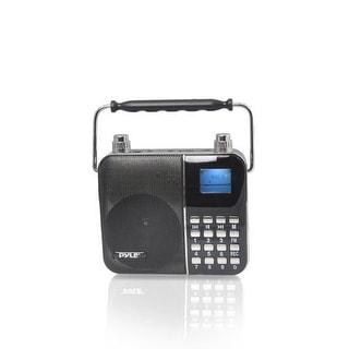 Sing Along Portable Karaoke Radio & PA Speaker System, Compact Headset Microphone Amplifier, Digital Lyrics Display