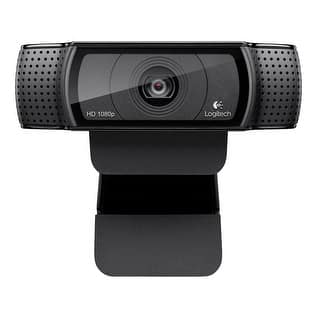 Logitech Hd Pro Webcam C920, Widescreen Video Calling And Recording, 1080P Camera, Desktop Or Laptop Webcam|https://ak1.ostkcdn.com/images/products/is/images/direct/36efdfe56322ea4f5f535a6f6f07a80f425b6c4b/Logitech-Hd-Pro-Webcam-C920%2C-Widescreen-Video-Calling-And-Recording%2C-1080P-Camera%2C-Desktop-Or-Laptop-Webcam.jpg?impolicy=medium