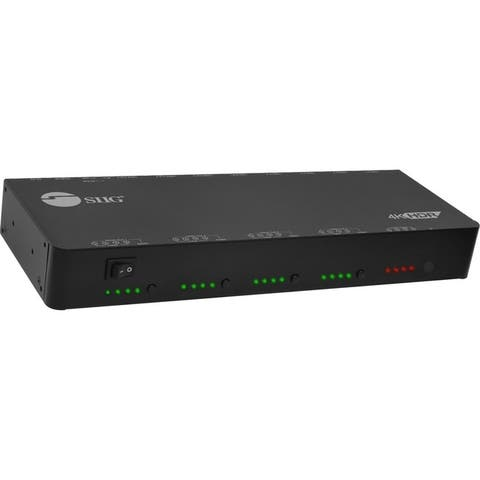 Siig ce-h24w11-s1 4x4 hdmi 2.0 hdr matrix switch