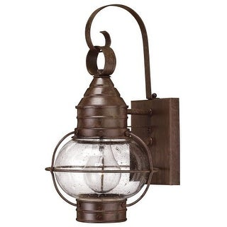 """Hinkley Lighting H2206 14"""" Height 1 Light Lantern Outdoor Wall Sconce from the Cape Cod Collection"""