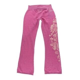 Guess Womens Fleece Signature Lounge Pants - M