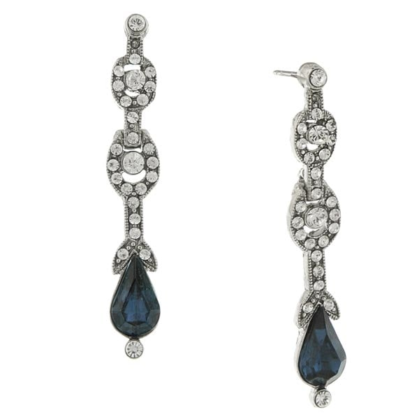 Women's Downton Abbey Pear Drop Earrings