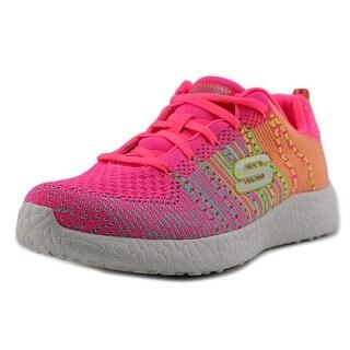 Skechers Burst-Ellipse Women Round Toe Canvas Sneakers
