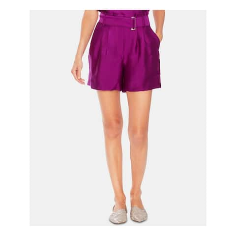 VINCE CAMUTO Womens Purple Short Size 12