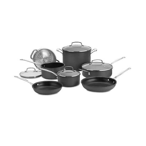 Cuisinart 66-11 Chef's Classic Nonstick Hard-Anodized 11-Piece Cookware Set - 11 Piece set