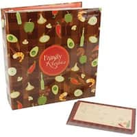 "5""X7"" Recipe Cards - Family Recipes 3-Ring Scrapbook Kit"